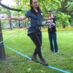 Park linowy dla szczepu harcerskiego