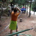 Lekcja z parkiem linowym w Niepublicznej Szkole Podstawowej w Mysiadle