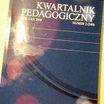 """Kwartalnik pedagogiczny – artykuły po konferencji """"Edukacja przygodą"""""""