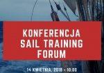 """Zaproszenie na konferencję """"Sail Training Forum"""" 2018"""